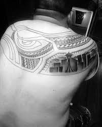 seattle skyline tattoo designs for girls pictures to pin on