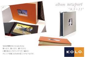 photo album 8 5 x 11 nagasawa stationery center rakuten global market kolo photo