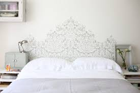 Headboard Wall Decal Farrow And Ball Decorating Ideas Bedroom Contemporary With Fake