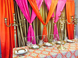 Curtains St Louis Pink Orange Gold Pipe And Drape Available At Weinhardt