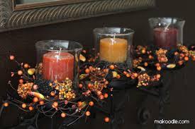 fall candle decor makoodle