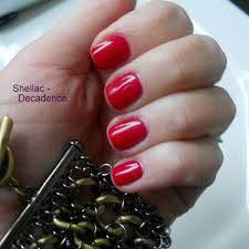 smitten in cleveland shellac decadence u0026 opi gel color sighting