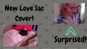 Lovesac Vs Ultimate Sack New Cover For Our Love Sac Surprise Cozy Sack Cover Youtube