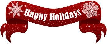 happy holidays logo clip 21