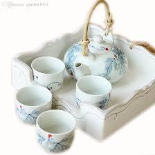 tea cup set 2018 small tea cups set jingdezhen decorative teapot