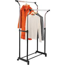rolling adjustable garment rack walmart com