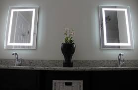 led lit bathroom mirrors mirror design ideas double glass bathroom mirrors led lighting