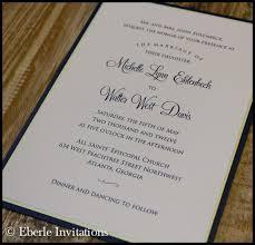 classic wedding invitations atlanta wedding invitations archives eberle invitations