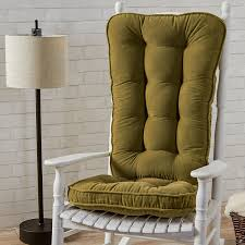 Padding For Rocking Chair Amazon Com Greendale Home Fashions Jumbo Rocking Chair Cushion