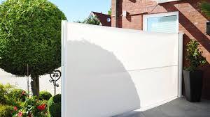 Trennwand Garten Glas Ausziehbare Seitenmarkise Sichtschutz Exclusiv Home Youtube