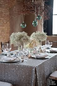 Wedding Table Linens 10 Color Schemes For A Sparkling New Year U0027s Eve Party