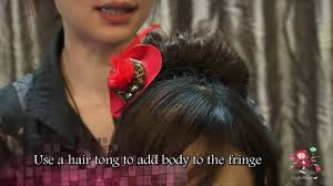 how to hairstyle contemporary japanese bun youtube
