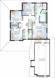 wrap around porch and private space second floor plan sdl custom