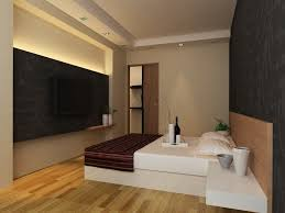 bedroom beautiful white brown wood luxury design interior wall