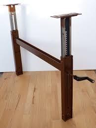 adjustable table base pedestal outstanding adjustable height pedestal table base sku px 38