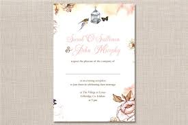 wedding invitations kildare charming bouquet invitation invitations summer
