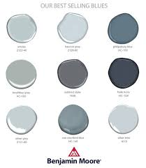best selling blues and grays by benjamin moore for my dream house