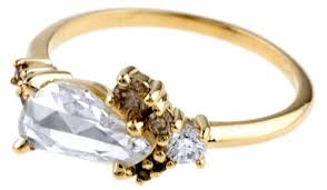 custom cluster v shaped ring bario neal cut diamond jewelry photo album best fashion trends and models