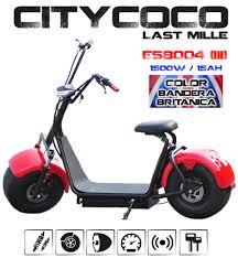 scooter urbano eléctrico citycoco last mille 1 motor 1500w