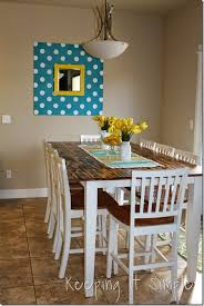 Diy Dining Room Tables How To Build A Shiplap Wall For 75 Keeping It Simple Crafts