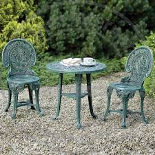 Resin Bistro Chairs Garden Studio