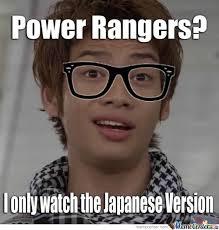 Nerd Karate Kid Meme - super sentai nerd by hollowarx meme center