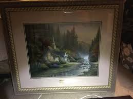 kinkade home interiors finding the value of a kinkade print thriftyfun