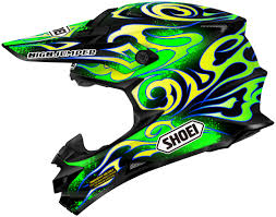 helmet motocross shoei vfx w graphics