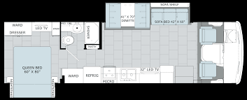 Class B Motorhome Floor Plans by Admxe31w 2x Png