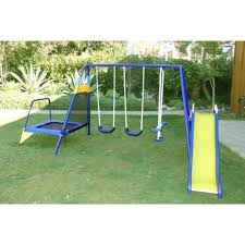 swing sets with trampoline attached trampoline for your health