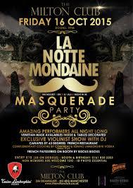 la notte mondaine masquerade party the uk u0027s biggest french