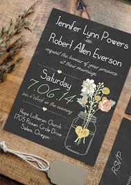cheap rustic wedding invitations 16 best chalkboard wedding invitations images on