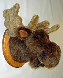 stuffed moose head ebay