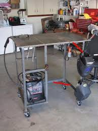 Welding Table Plans by Welding Table Plans Garage Hacks Pinterest Welding Table
