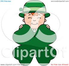 royalty free rf four leaf clover clipart illustrations vector
