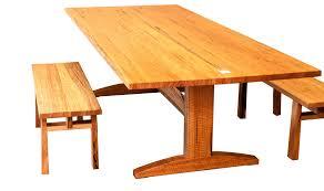 Kitchen Furniture Perth Trestle U0027 Dining Table In Marri Treeton Fine Wood Studio