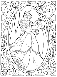 100 ideas coloring pages belle gerardduchemann