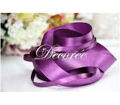 purple satin ribbon satin ribbon