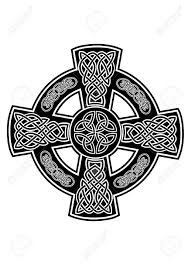image celtic cross with patterns royalty free cliparts vectors and