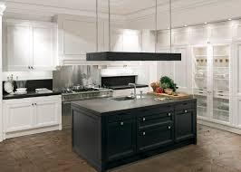 black white u0026amp wood kitchens best home design ideas