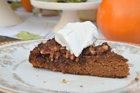 pumpkin crunch cake paleo and gluten free dessert nesting with
