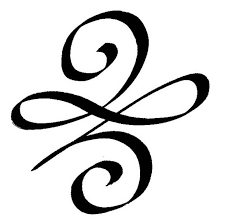 the celtic symbol for beginnings used for broken by angela b