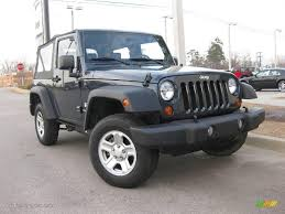 jeep wrangler dark grey 2007 steel blue metallic jeep wrangler x 4x4 24874909 gtcarlot