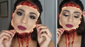 special fx makeup mask halloween tutorial l karen morales youtube