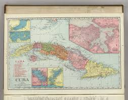 Map Cuba Cuba David Rumsey Historical Map Collection