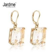 nickel earrings jardme big chagne color drop earrings dangle jewelry