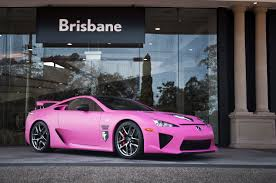 lexus lfa vs honda nsx world u0027s first matte pink lexus lfa forcegt com