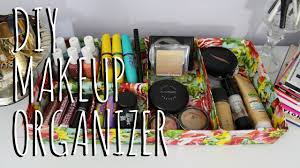 Make Your Own Home Decor Make Your Own Makeup Organizer Diy Makeupjewelry Organizer Youtube