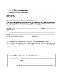 bunch ideas of letter of recommendation form template for cover