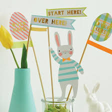 Easter Bunnies For Decorations by Meri Meri Easter Party Decoration Collection The Land Of Nod